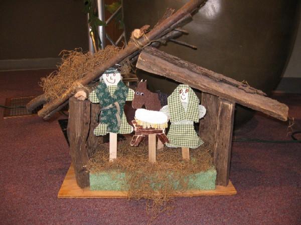 Mary - Joseph - Baby Jesus