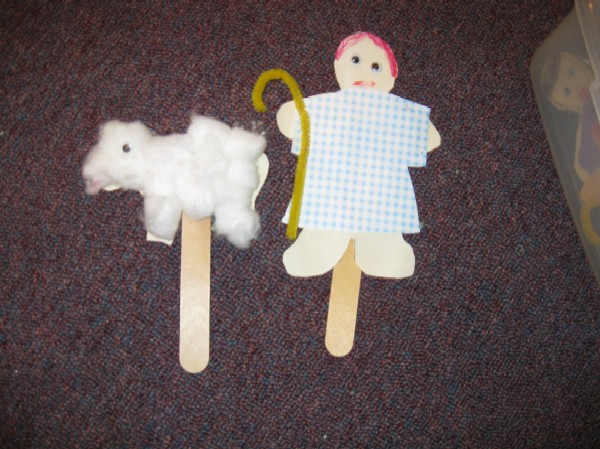sheep - shepherd