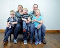 Feb 2015 Family Pic